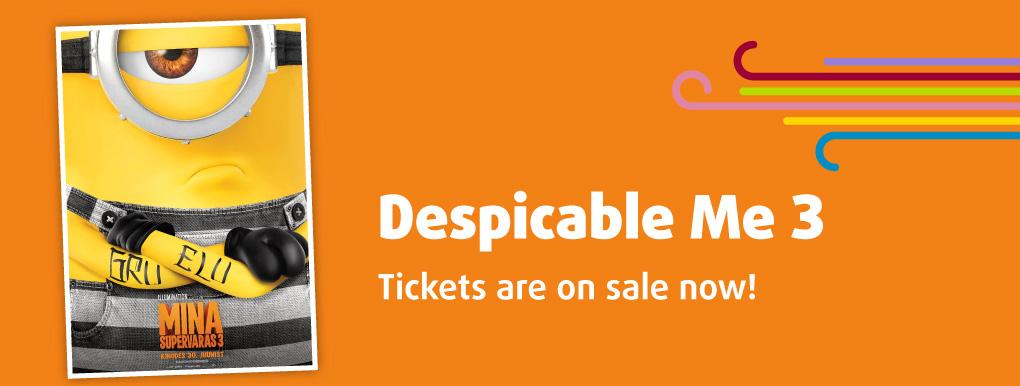Despicable Me 3 3D (banner)