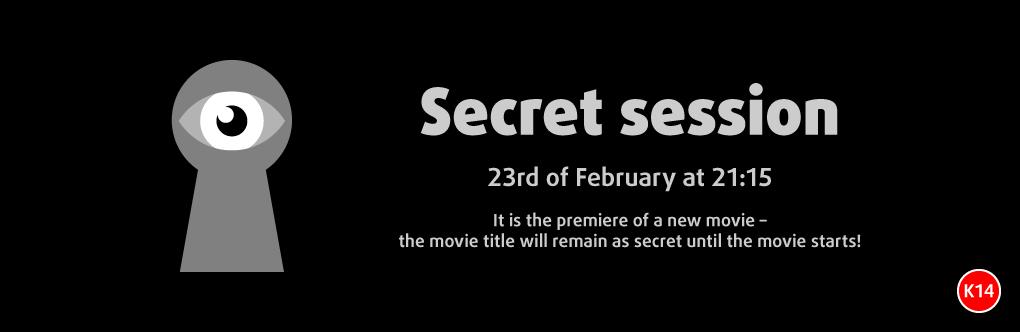 Secret session (banner)